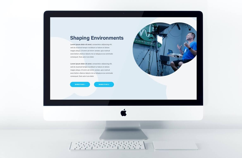 Hawks Agency Web Design