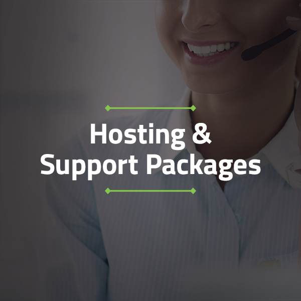 Hosting & Support Packages