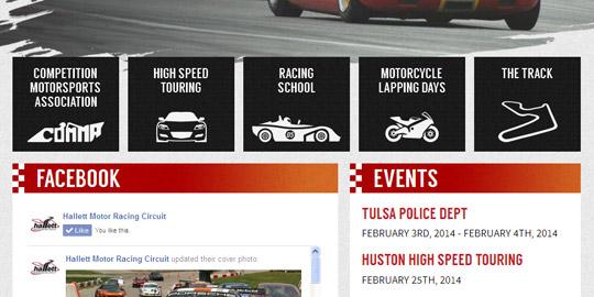 Racing Website