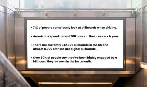 Billboard Advertising Statistics