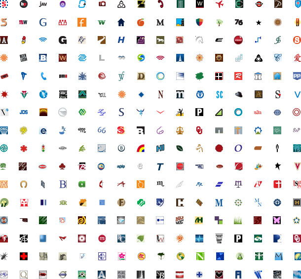 256 favicon designs