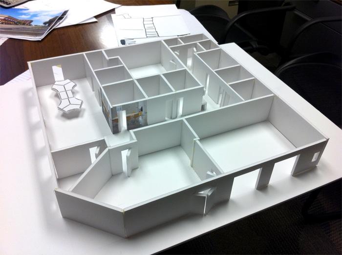 5th Street Back40 Design office model