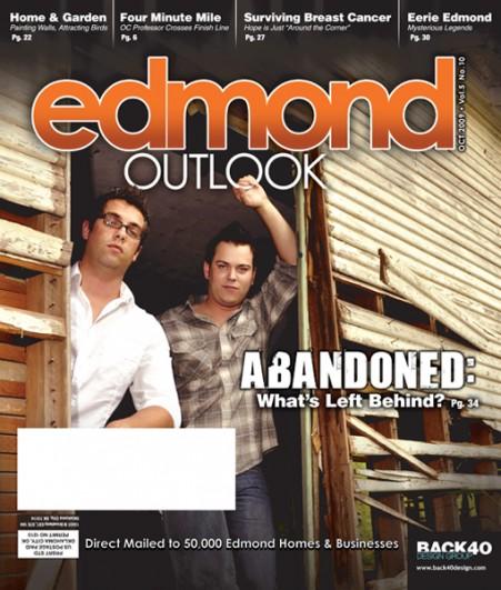 vOctober 2009 Edmond Outlook Cover