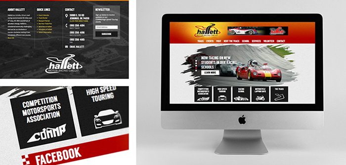 Hallett Website Design