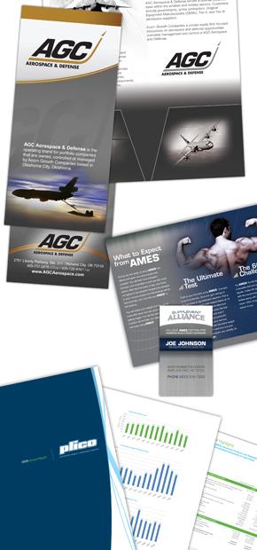 AGC Print Portfolio materials