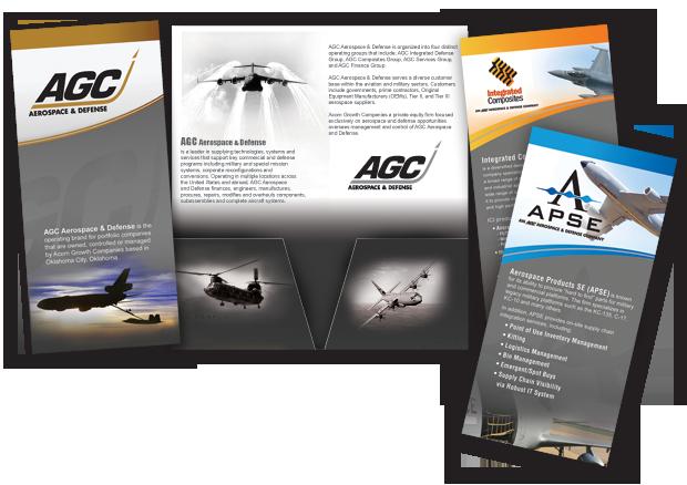 Acron Growth Companies brochure design