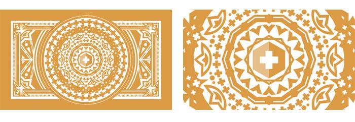 Mandala design business card