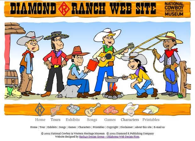 National Cowboy Museum Children's Website