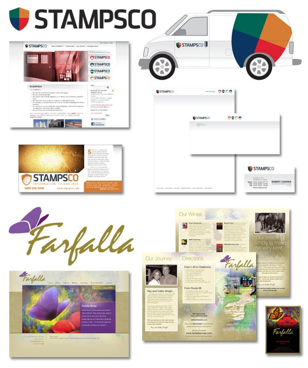 Back40 Design Corporate Identity Examples