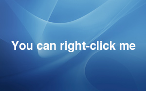 You can right click me