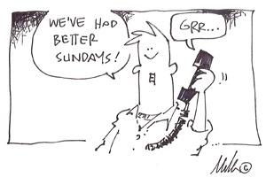 web server cartoon