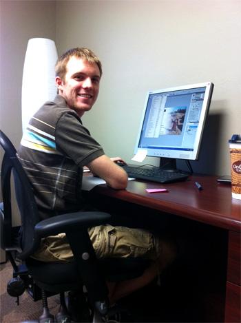 Tanner, UCO Graphic Design Intern