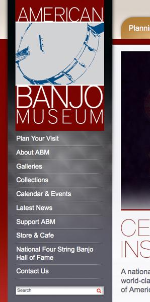 ABM website vertical nav