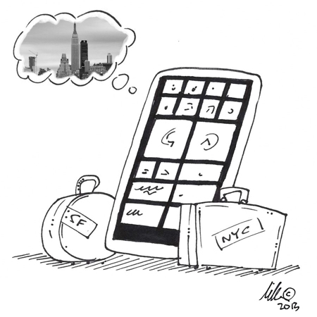 Windows Phone Cartoon
