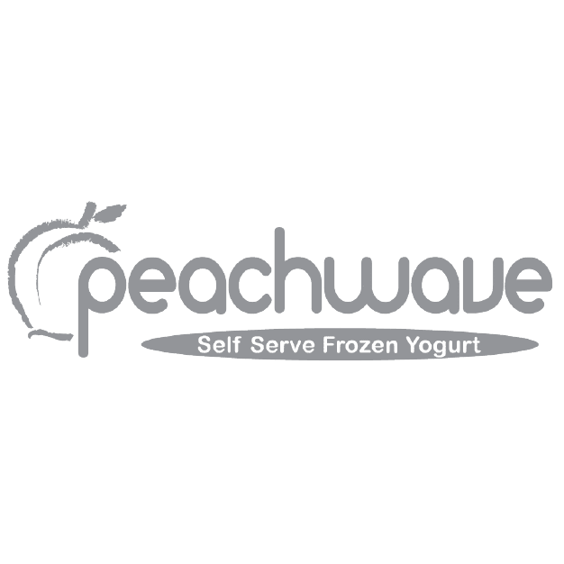 Peachwave Grayscale Logo-01